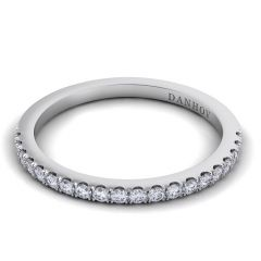 Danhov Per Lei Flat Diamond Wedding Band for Her LB100-H