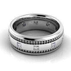 Danhov Pelote Domed Diamond Band PM104-8