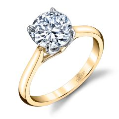 Parade New Classic Diamond Solitaire Ring R3671/R1-YW
