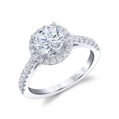 Parade New Classic Diamond Halo Ring R4737/R1