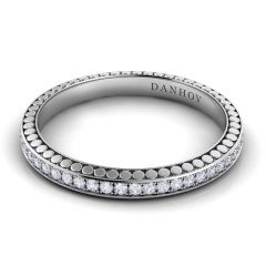 Danhov Tubetto Diamond Wedding Band for Women TB101-A