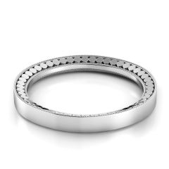 Tubetto Domed Women's Wedding Band TB118