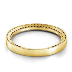 Danhov Yellow Gold Wedding Band TB118-Y