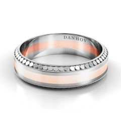 Danhov Designer Wedding Ring for Men TM119-6